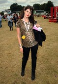 Gemma Arterton rocks out at V Festival