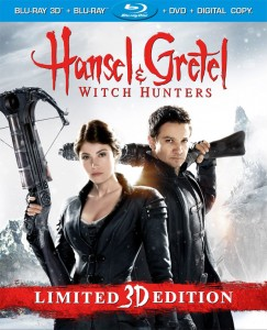 Hansel & Gretel: Witch Hunters Unrated Blu-ray 3D
