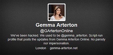 Gemma Arterton Online Twitter