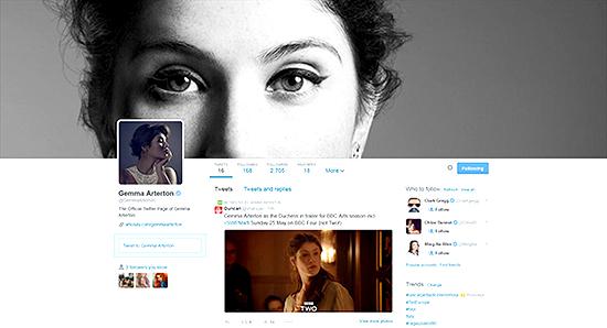 Gemma Arterton Official Twitter